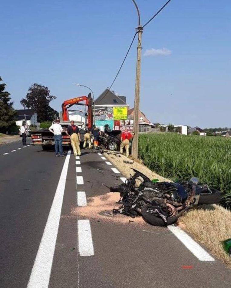 Dirk kwam donderdag om het leven na een zwaar verkeersongeval in Lierde.
