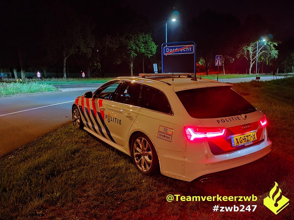 Een automobilist raasde met 174 kilometer per uur over de A16 bij Prinsenbeek.
