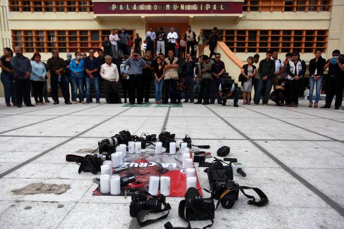 In Mexico zijn er acht journalisten om het leven gebracht (archiefbeeld ter illustratie).