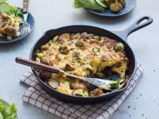 Wat Eten We Vandaag: Ovenschotel met spruitjes en krieltjes