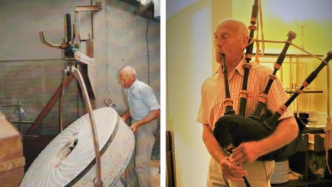 Raf Gaublomme, laatste molenaar en 'ere-piper', op 75-jarige leeftijd overleden