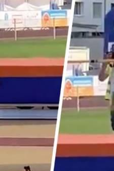 Les images d'un athlète amputé d'une jambe font le tour des réseaux sociaux