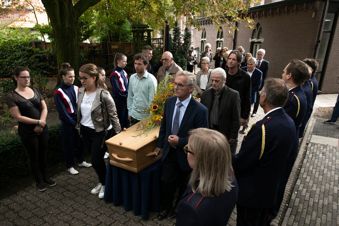 Begrafenis pastoor Van Steen in Asten-Heusden.