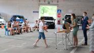 Basisschool Klim Op organiseert drive-in om proclamatie coronaproof te maken