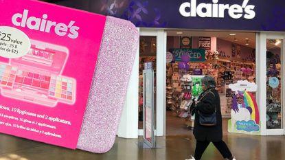 Sporen van asbest ontdekt in make-up Claire's: producten uit Belgische rekken gehaald