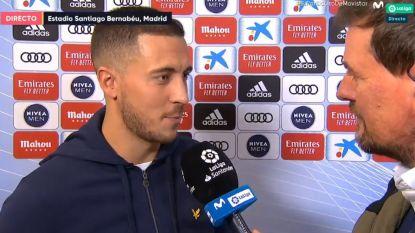Opvallend: Eden Hazard legt in vloeiend Spaans uit hoe zijn naam correct wordt uitgesproken