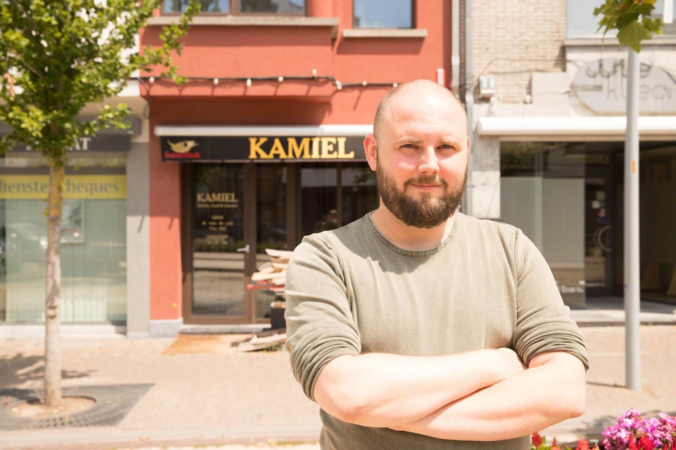 Vanaf maandag heropent Pieter Neudt het bekende spaghettihuis Kamiel.