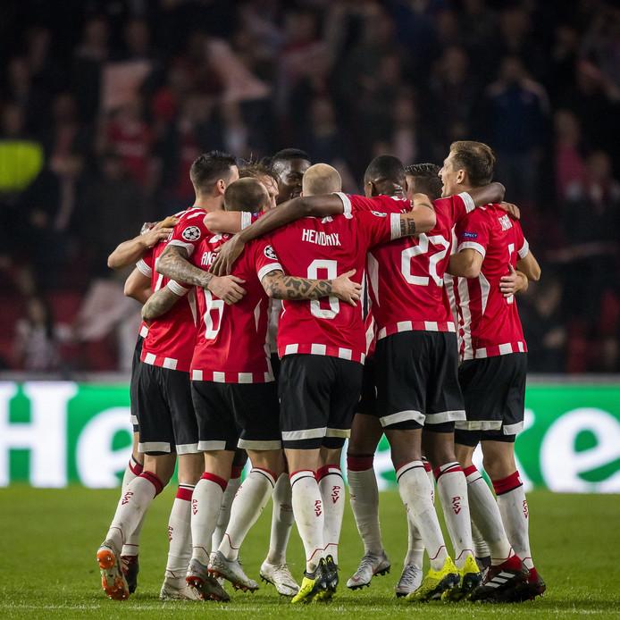 PSV plaatste zich woensdag voor de groepsfase van de Champions League.