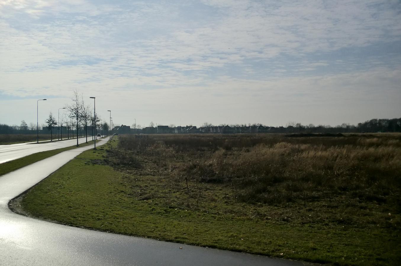 Het gebied De Meeten II waar Roosendaal de bouw van een groot distributiecentrum mogelijk wil maken