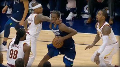 Een aanslag in de NBA, zoals je het maar zelden ziet