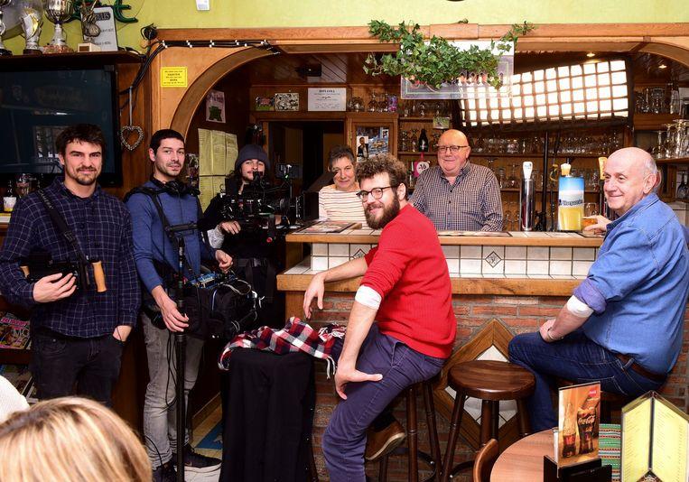 Er werd een promofilm gemaakt in café 't Vijfde Wiel