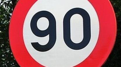 Vanaf 1 maart maximum 90 per uur op R8
