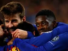 Dembélé moet maand lang toekijken bij FC Barcelona