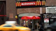 Flinke daling omzet en winst McDonald's