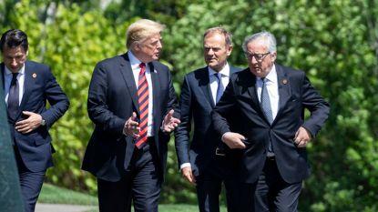 """""""Trump nodigt Juncker uit om handelstarieven te bespreken"""""""