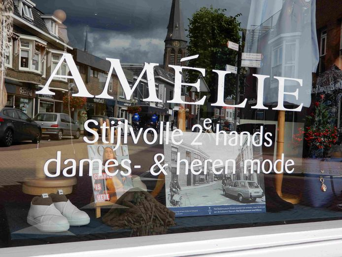 De Grotestraat toen en nu is zichtbaar bij Amélie.
