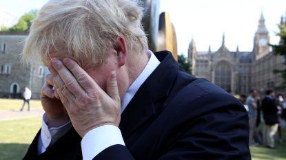 """Britse minister Boris Johnson laat zich verschalken door Russische komiek: """"Hoe ga ik best met Poetin om?"""""""