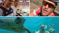 Van een bezoek aan de Klaagmuur tot een selfie met een waterschildpad: dít doen wielerprofs tijdens het tussenseizoen