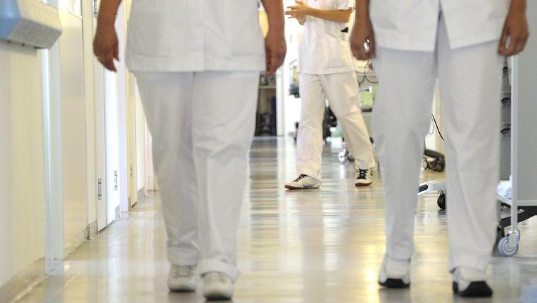 De verpleegafdeling van een ziekenhuis in Rotterdam. Beeld ANP XTRA