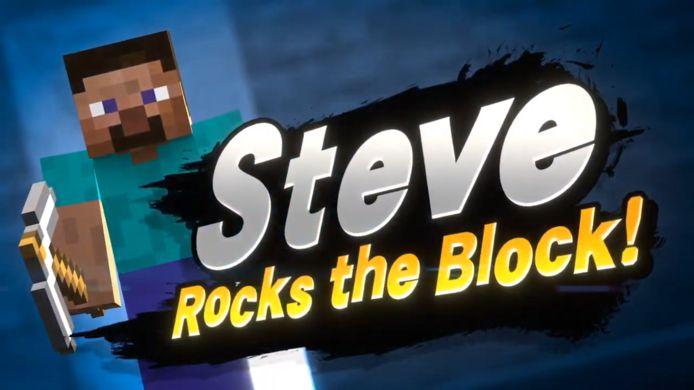 Minecraft Steve is de nieuwste toevoeging aan vechtspel Super Smash Bros Ultimate.