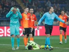 Sjachtar en Dinamo Zagreb in balans
