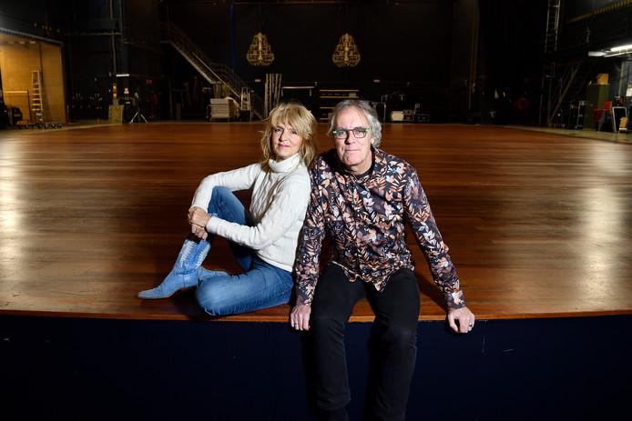 Govert Schilling en Leoni Jansen: 'Onze fascinatie voor sterren vormde de aanloop naar dit theaterprogramma.'