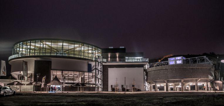 Het snorkelcentrum op BE-Mine.