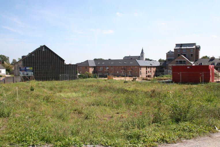 De open ruimte op de Lorierssite waar nog verschillende woonprojecten worden uitgewerkt, waaronder het Pierre Celishof.