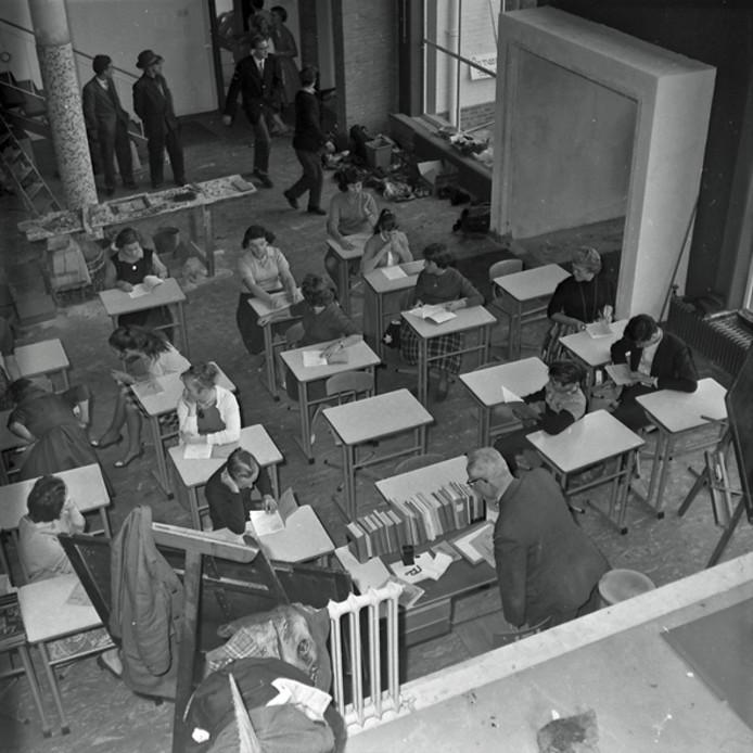 Verhuizing Christelijke ULO in Eindhoven in 1959