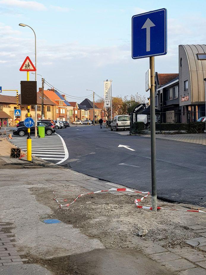 De ventweg aan de Wielsbekestraat in Oostrozebeke is een feit.