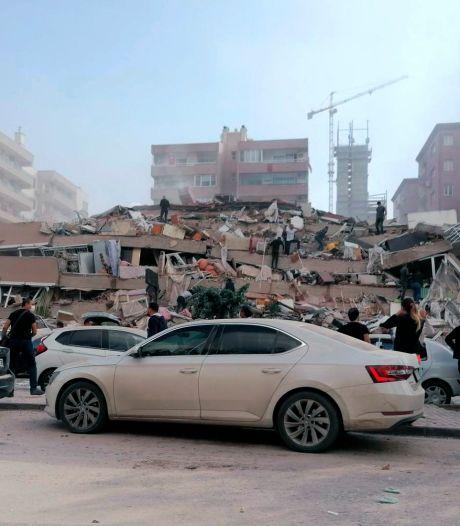 Dodental aardbeving Griekenland en Turkije loopt op naar 26, ruim 800 gewonden