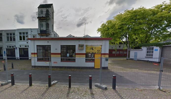 De kazerne aan de Sint Annahof in Tilburg.