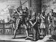 Zwaard waarmee Johan van Oldenbarnevelt werd onthoofd naar Flehite