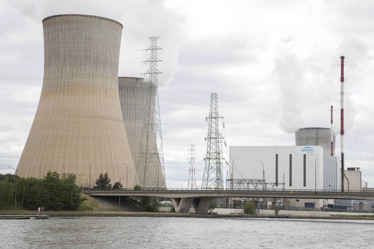 De Belgische kerncentrale in Tihange.