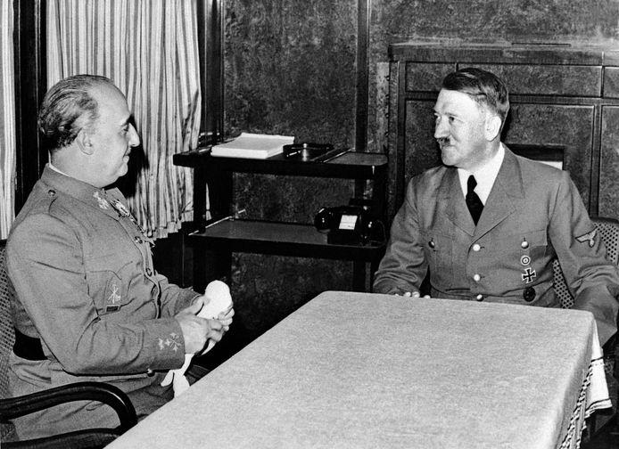 Francisco Franco et Adolf Hitler