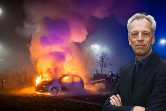 Burgemeester Sjors Fröhlich van de gemeente Vijfheerenlanden spreekt zich uit over de ongeregeldheden in Vianen tijdens oud en nieuw. Er waren veel autobranden en hulpdiensten werden door jongeren belaagd met vuurwerk.