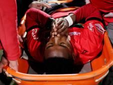 Ernstige kuitblessure Musaba tempert vreugde bij NEC na 2-0 overwinning op Helmond Sport