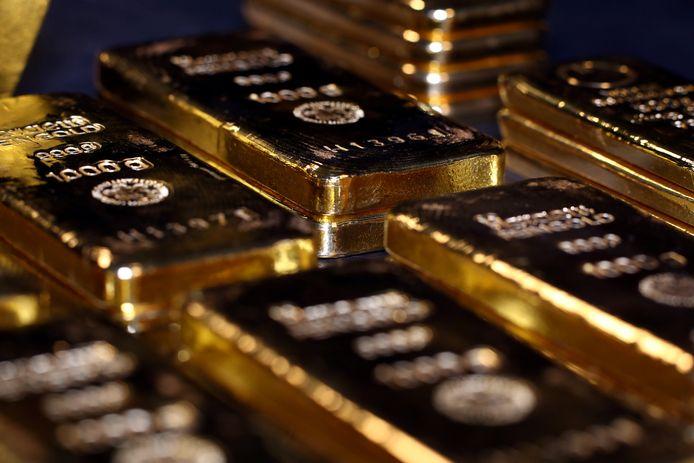 Archiefbeeld goudstaven