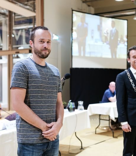 Colin maakte de nieuwe ambtsketen van 'zijn gemeente' Zevenaar