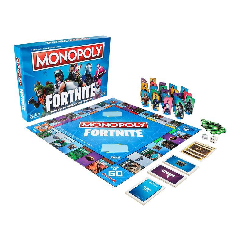 Geen geld, wel wapens: Fortnite krijgt eigen Monopoly ...