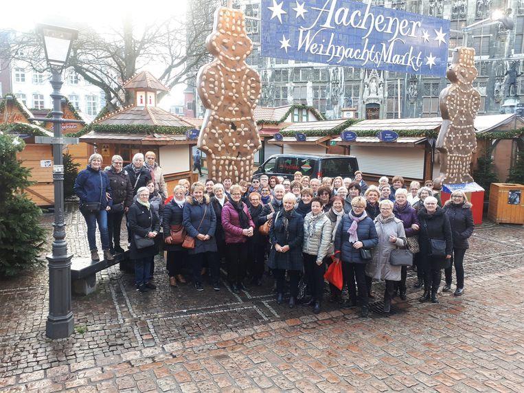 KVLV bezocht de Kerstmarkt in Aken (D)