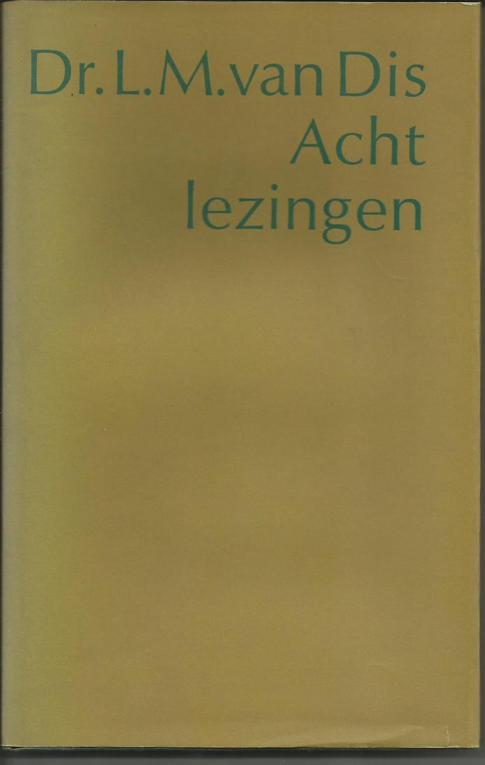 cover L.M. van Dis - Zeeuwse schrijvers, Mario Molegraaf