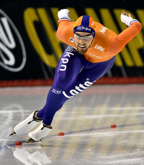 Nuis rijdt Nederlands record, Verbij aan de leiding