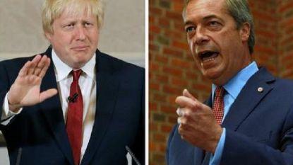 Boris Johnson sluit samenwerking met Nigel Farage uit