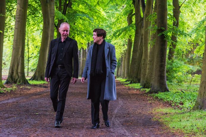Chris Driessen en Heidi van Mierlo in De Oude Warande