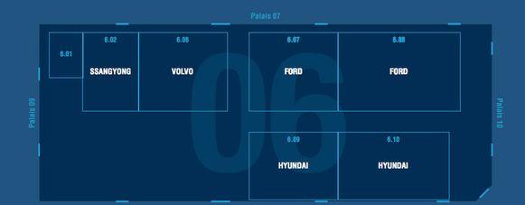 Paleis 6: Enzo - Ford - Hyundai - Land Rover - Mazda - Ssangyong - Volvo