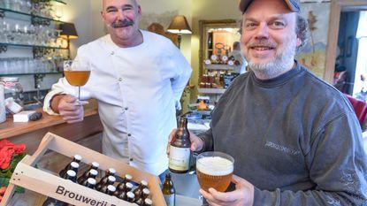 Chef-kok Robby heeft voortaan eigen biertje