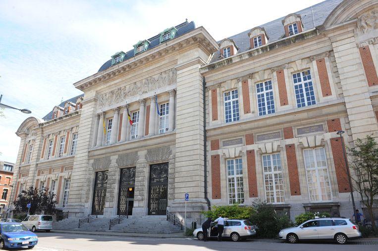 Het Leuvense gerechtsgebouw