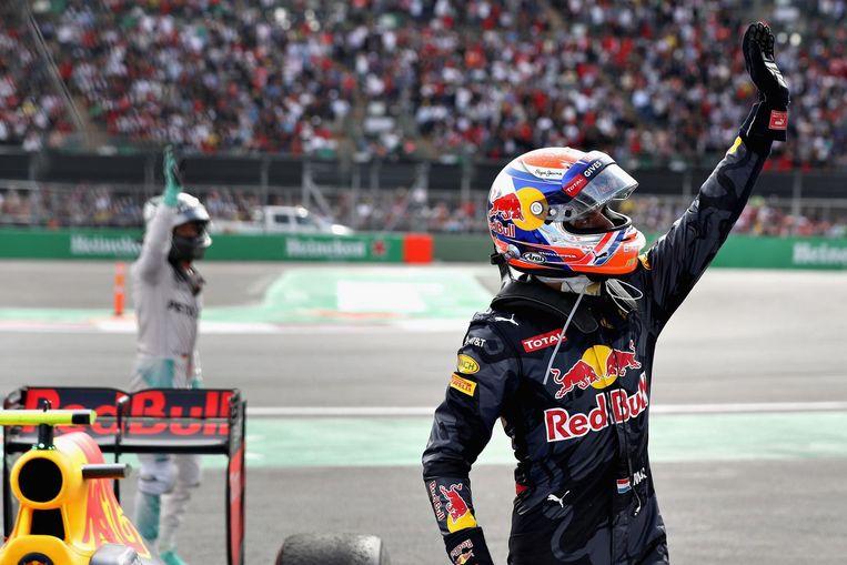 Max Verstappen van Red Bull Racing tijdens de GP van Mexico. Beeld anp