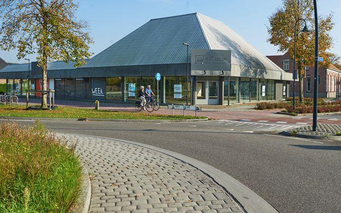 Aldi gaat hier aan de Bitswijk in Uden een nieuwe supermarkt bouwen.